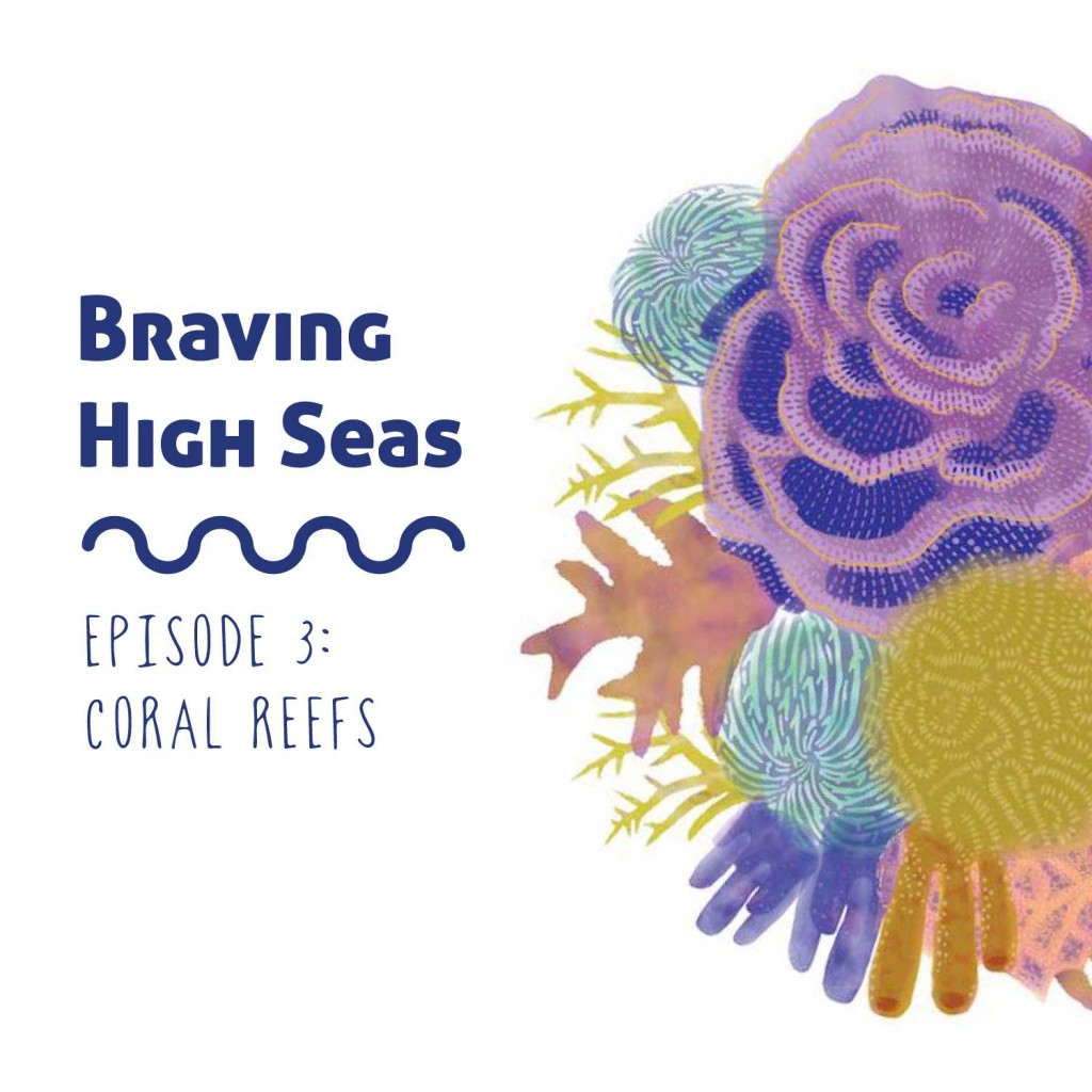 Braving the High Seas Coral Reefs